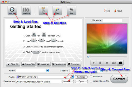 Free download Mac DVD Ripper_ rip DVD fast to Mac devices