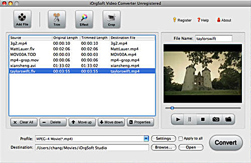 best Mac movie converter – convert keynote movie files to iMovie